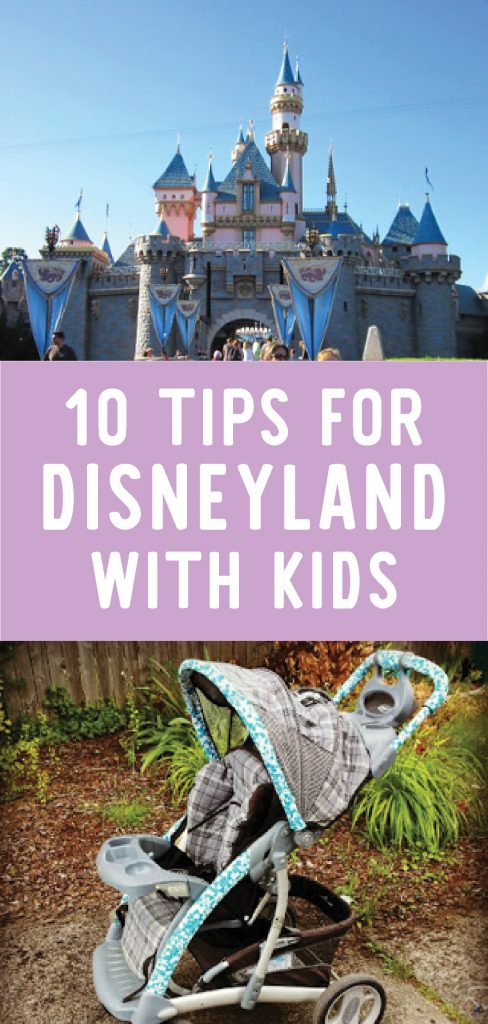 Tips for Disneyland with kids