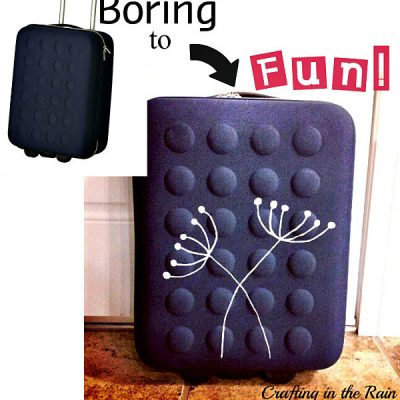 Painted Ikea Luggage