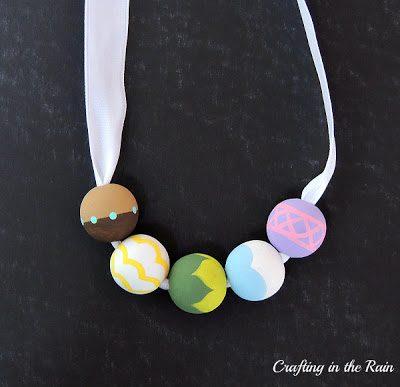 Painted Princess Beads