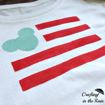 Mickey Flag Shirt