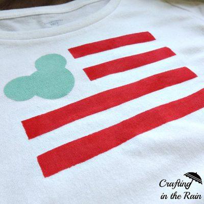 Mickey Flag Shirt