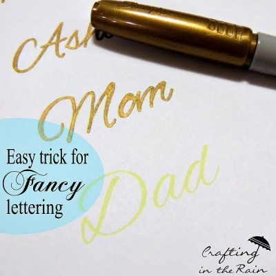How to Fake Fancy Lettering