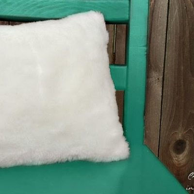 How to Sew A Fur Pillow