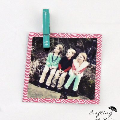 Instagram Photo Display with Amy Tangerine Supplies