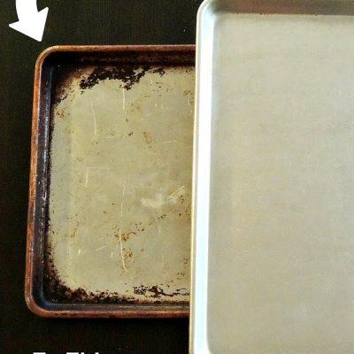 Make Baking Sheets Shiny Again