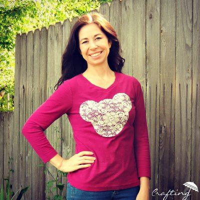 Lace Mickey Shirt