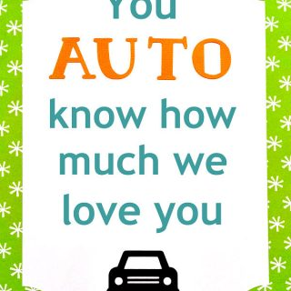 You auto know card