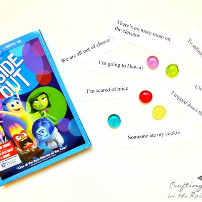 Inside Out Game and Snacks