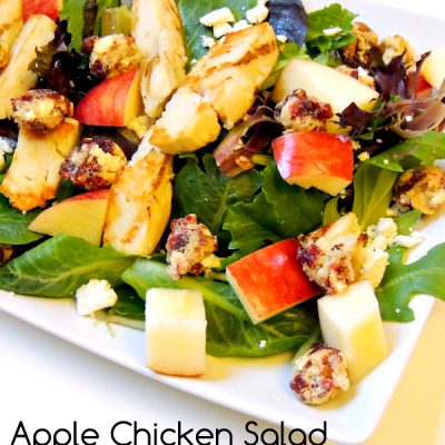 Apple Chicken Salad with Craisins® Fruit Clusters