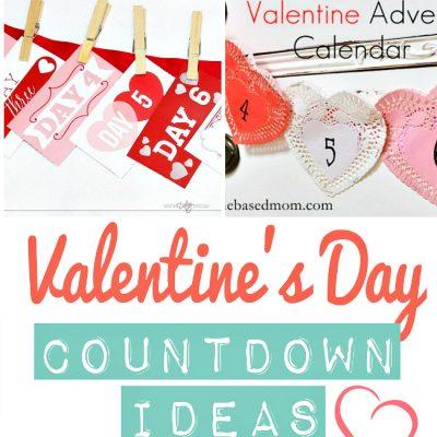 Valentine's Day Countdowns