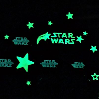 Star Wars Glow in the Dark Decals