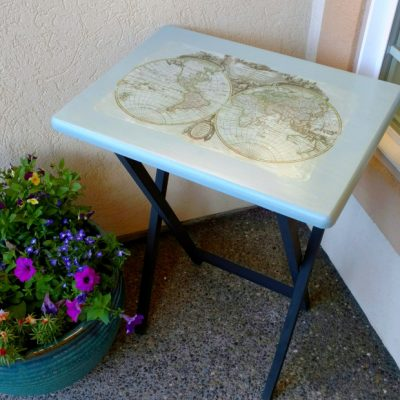 World Map Image Transfer Table