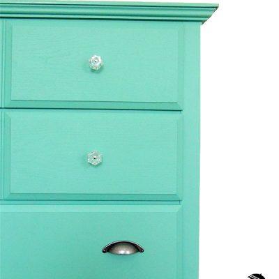 Teal Painted Dresser