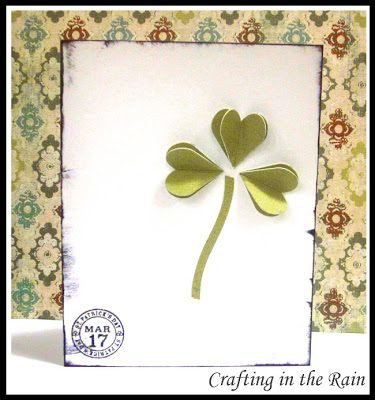 Easy Shamrock Card