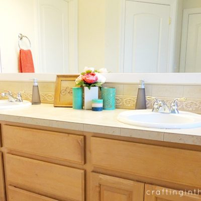 The 20 Minute Bathroom Makeover
