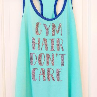 Cute DIY Exercise Tank