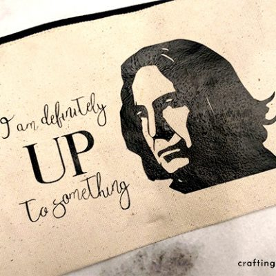 Snape Quote Zipper Pouch