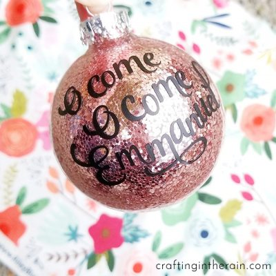 O Come Emmanuel Ornament