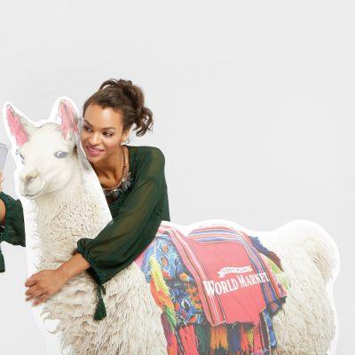 National Llama Day at World Market