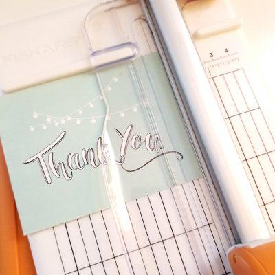 Printable Thank You Cards for Christmas