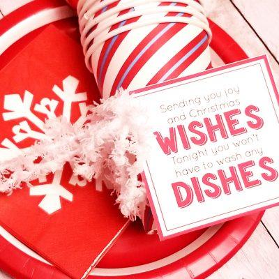 Christmas Dishes Neighbor Gift