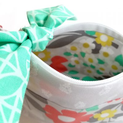 Cricut Little Zipper Bow Pouch
