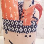 Cricut Small Fabric Basket Tutorial - Monaluna Fabric Hop