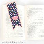 Felt and Fabric Bookmark