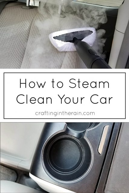 how to steam clean your car crafting in the rain. Black Bedroom Furniture Sets. Home Design Ideas