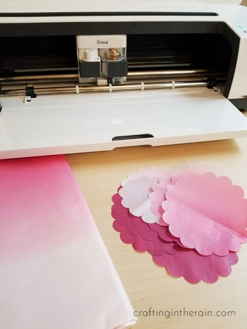 How to Cut Tissue Paper with Cricut