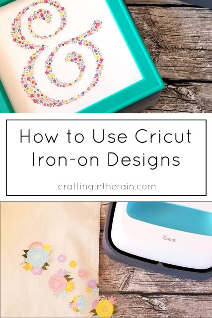 Cricut iron on designs
