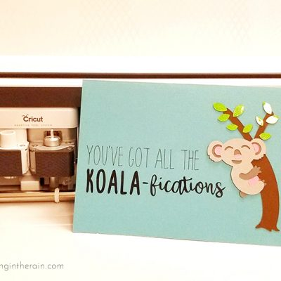 Koala Father's Day Card