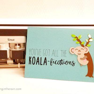 Koala Father's Day Card