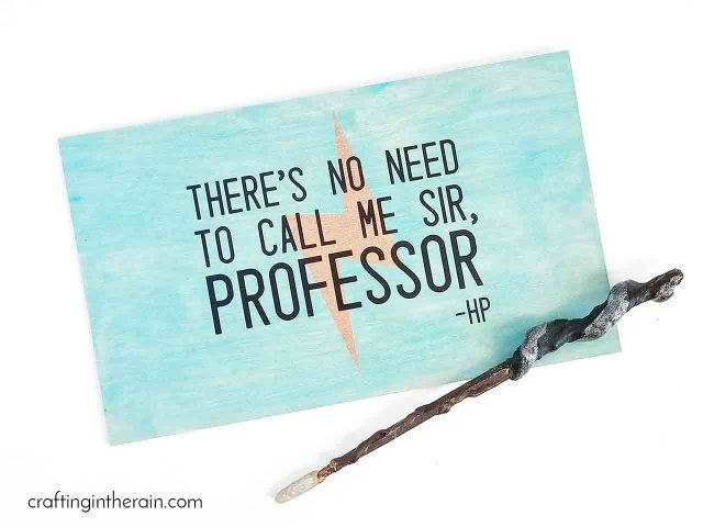 No need to call me sir, professor