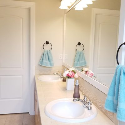 Bathroom Makeover with FrogTape
