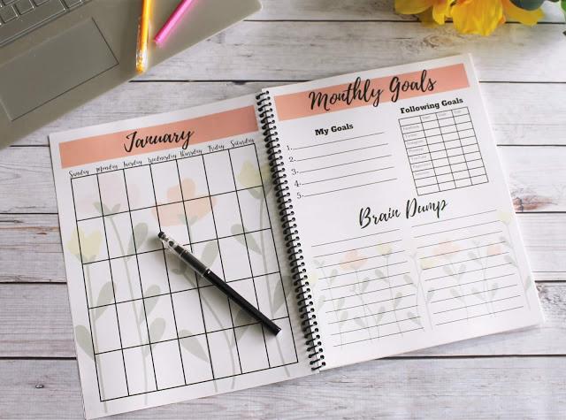 2019 free blog planner printable