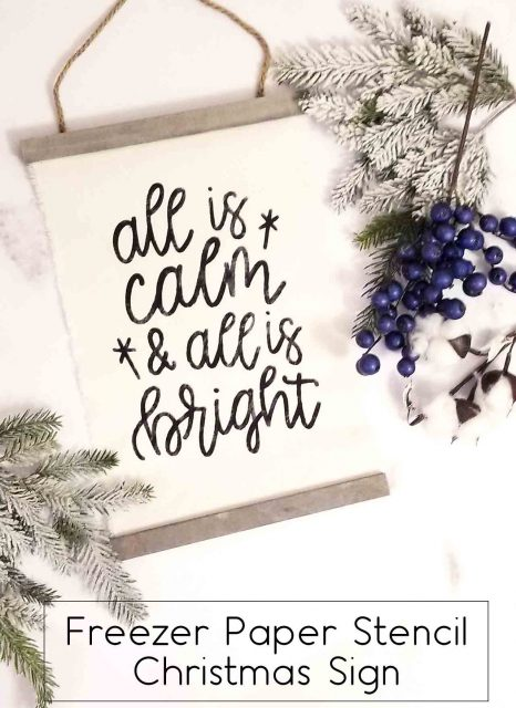all-is-calm-christmas-sign