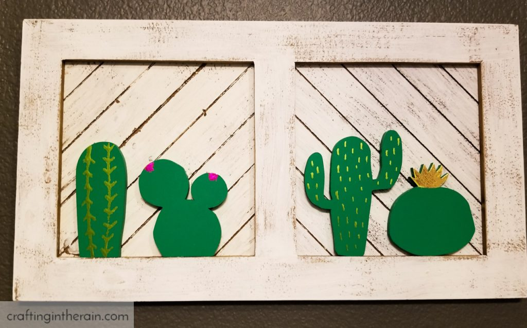 scroll saw cactus