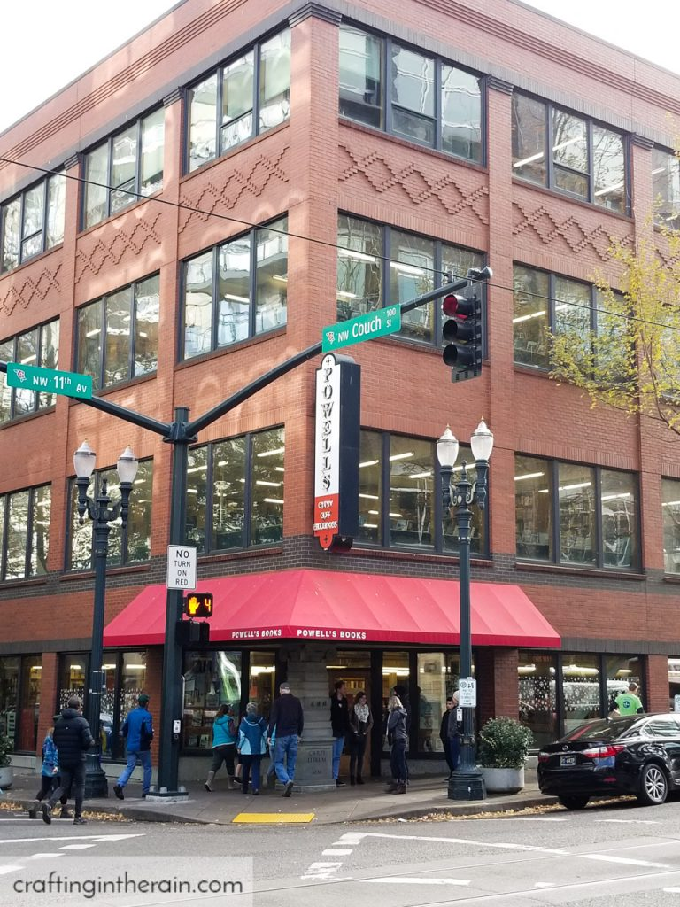 Powells Bookstore Portland