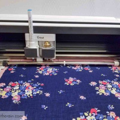 cut fabric with Cricut Maker