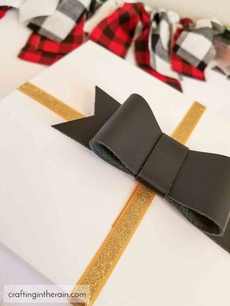 hair bow as gift bow