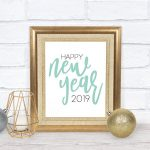 happy new year 2019 sign