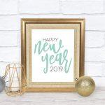Happy New Year 2019 SVG