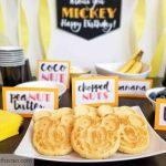 Mickey Mouse Waffle Birthday Breakfast
