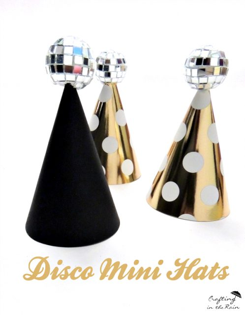 new years eve mini hat diy