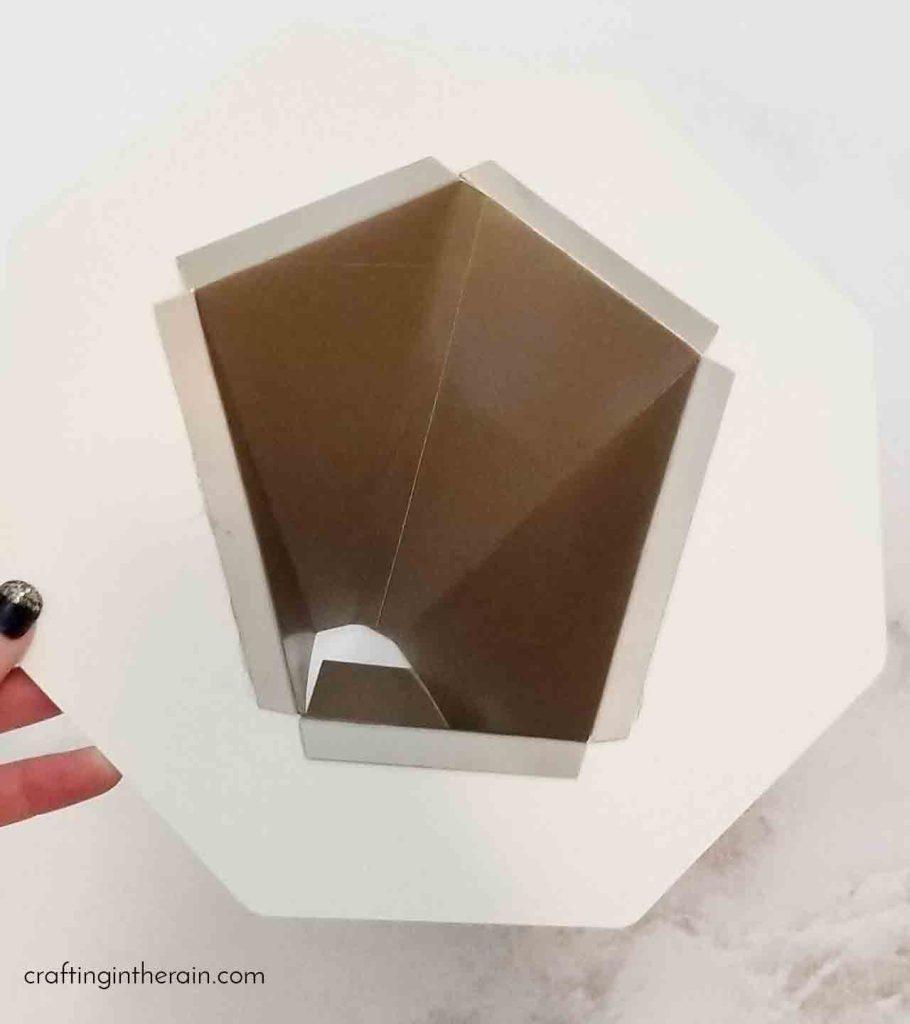 3D lion Cricut project