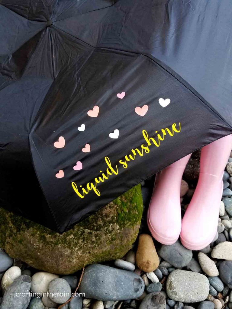 Add vinyl to umbrella