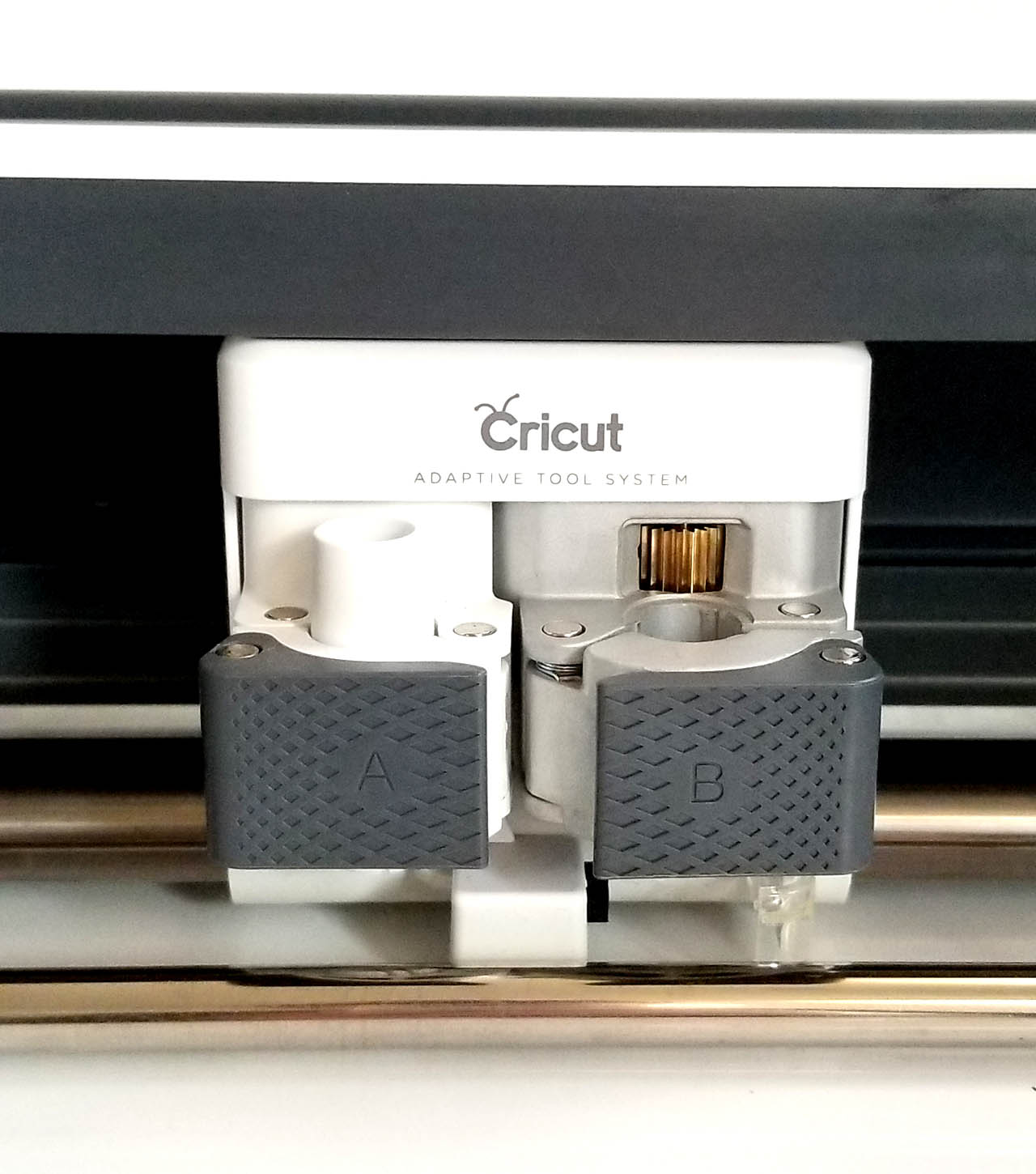 Cricut clamp A and clamp B
