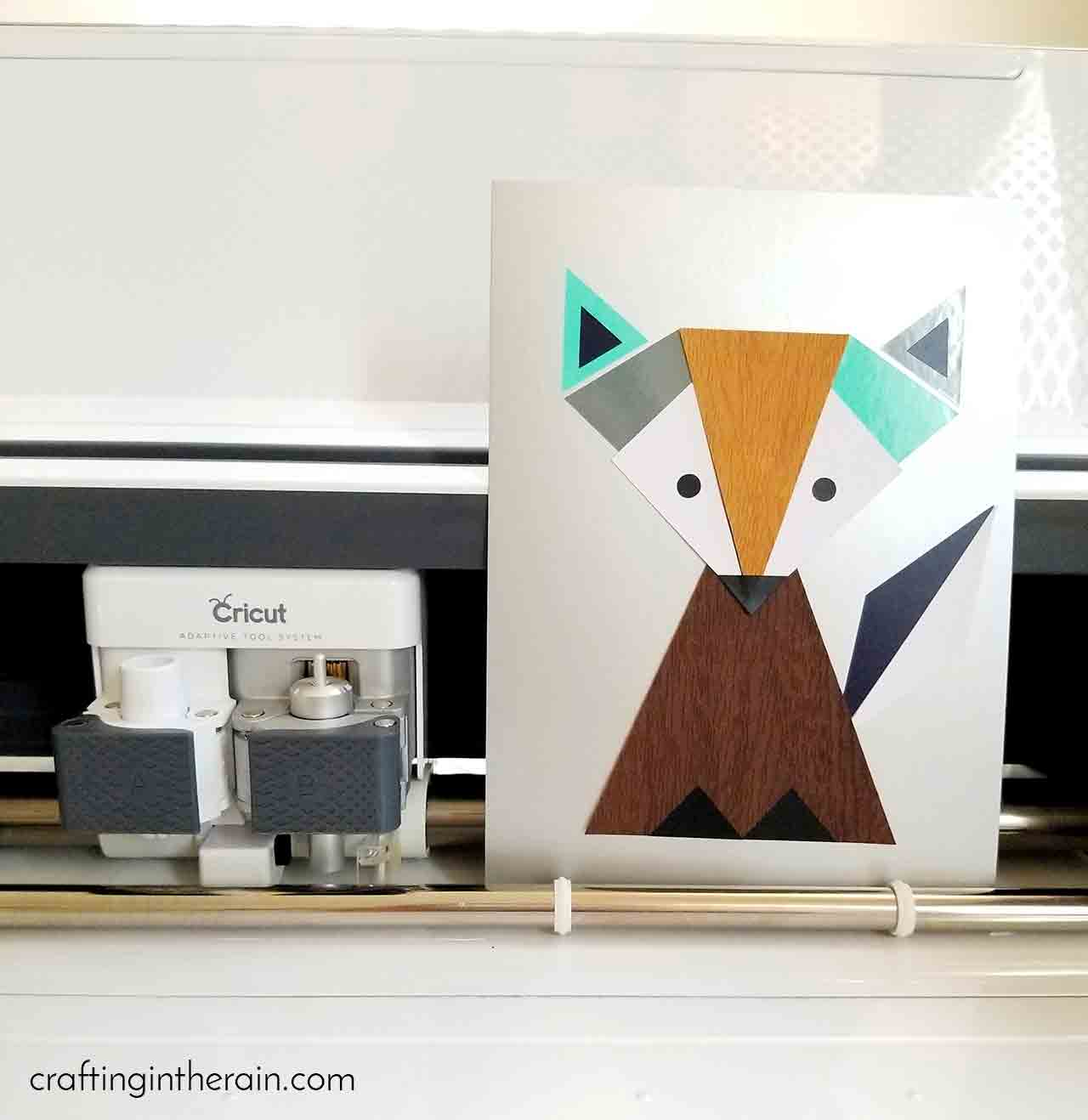 Cricut fox art