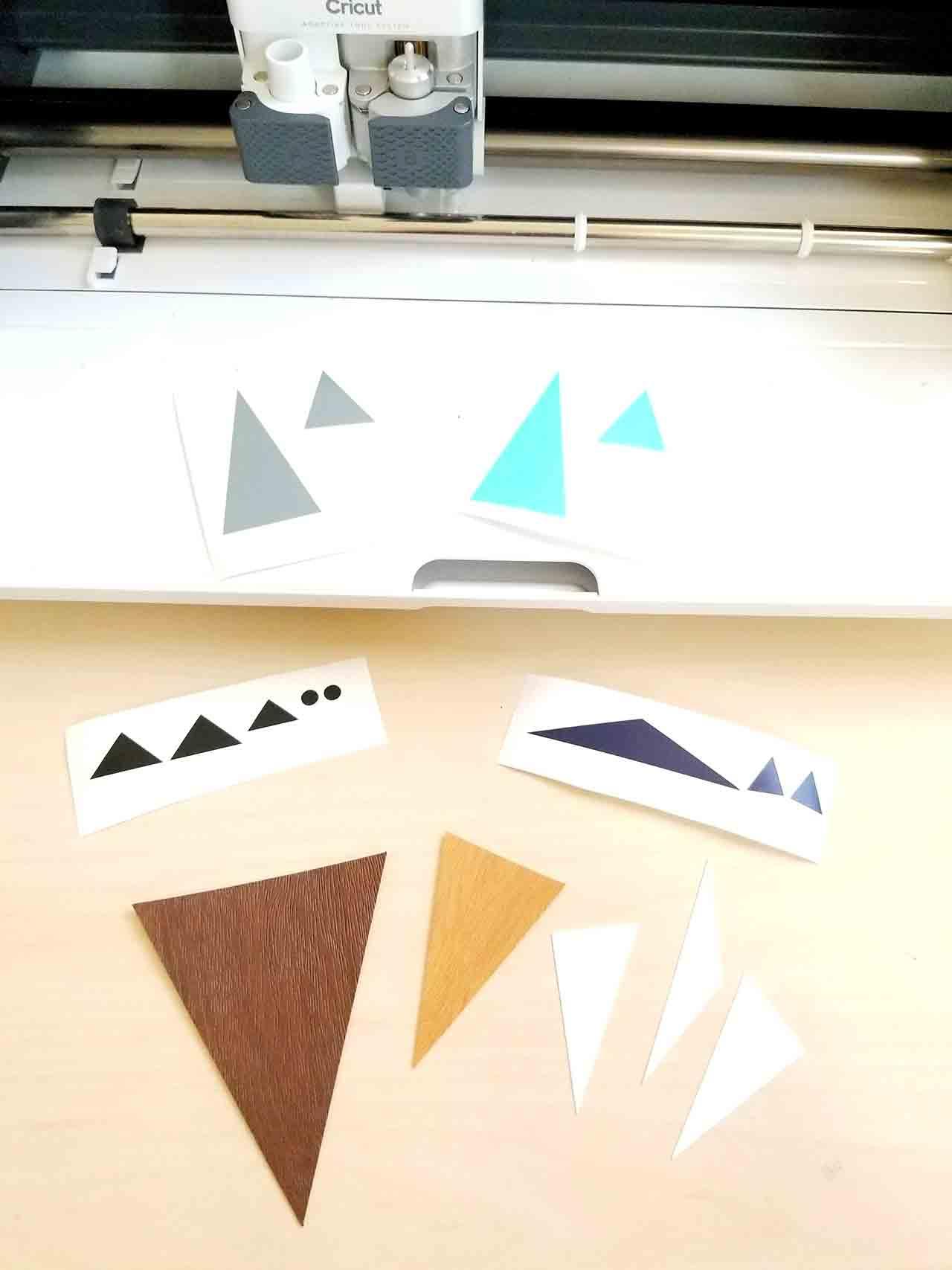 Cricut fox project
